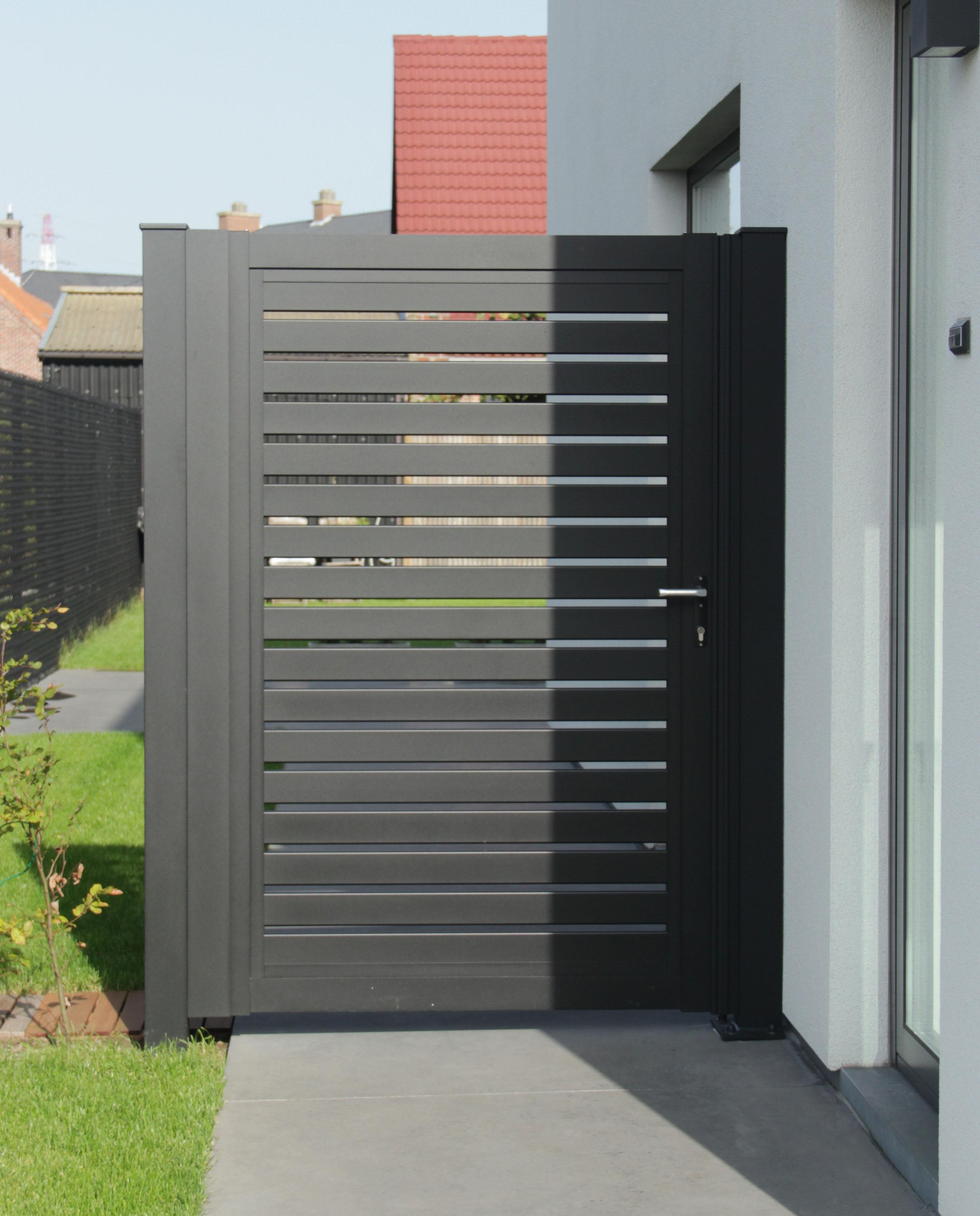 aluminium tuinpoort glenfid - Aluminium tuinpoorten/tuinpoortjes
