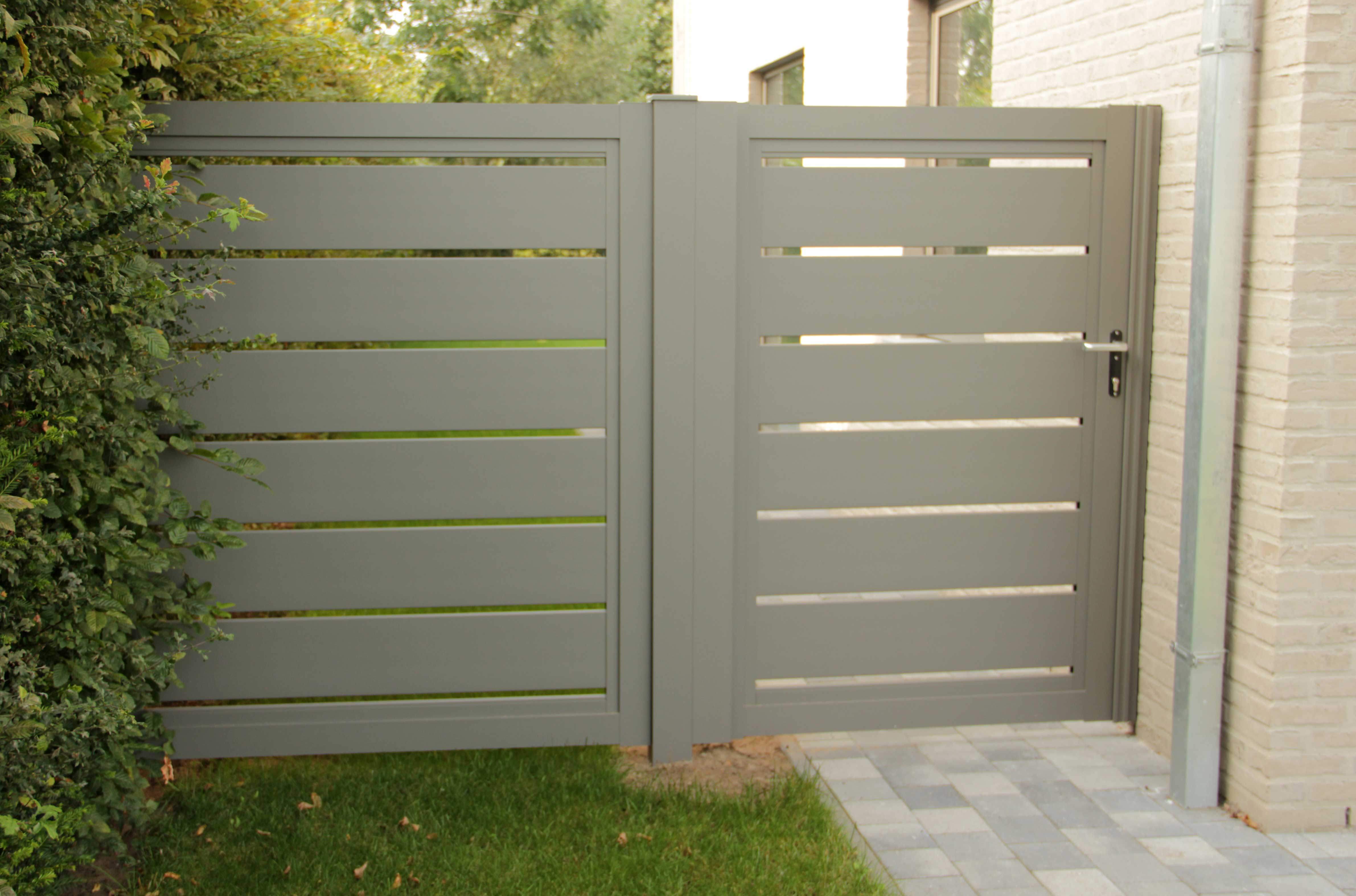 tuinpoort en hek aluminium