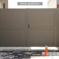 AD215kl 200x200 - Poorten en hekwerk - model Kwai Gesloten