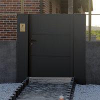 TE082 200x200 - Poorten en hekwerk - model Sectionaal