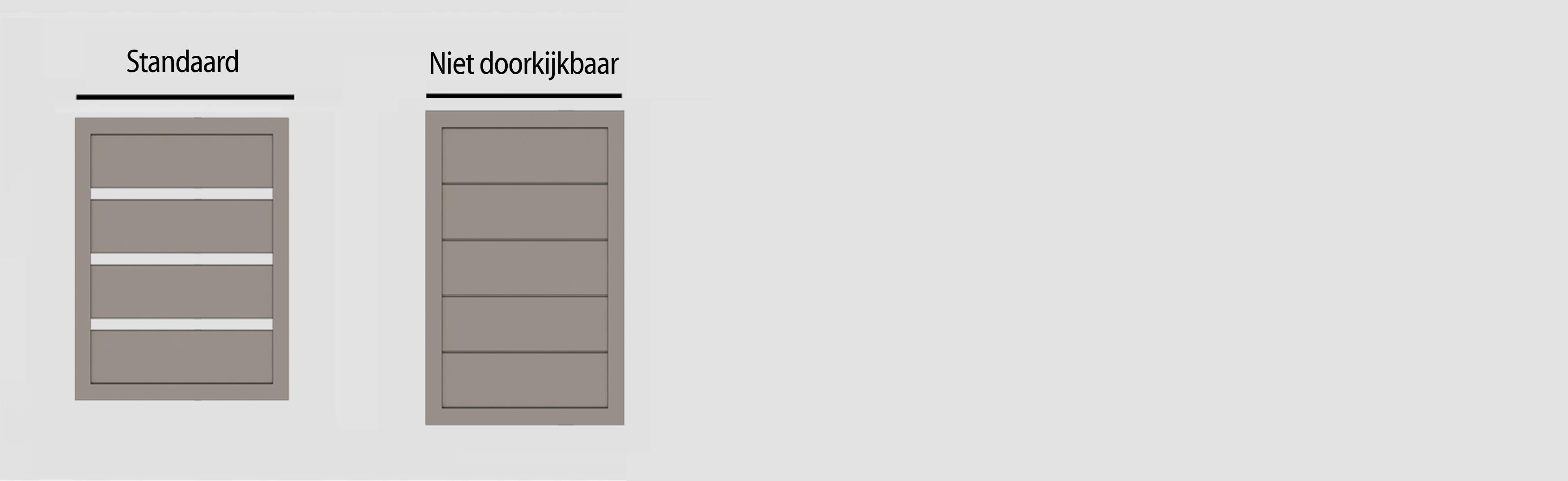glenfiddichl schema - Poorten en hekwerk - model Glenfiddich L