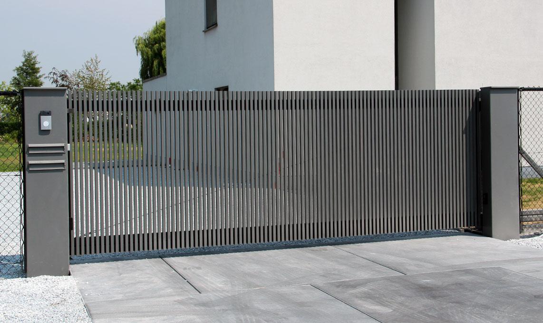 Pegassiverticaal - Aluminium poorten: draai-, tuin- en schuifpoorten