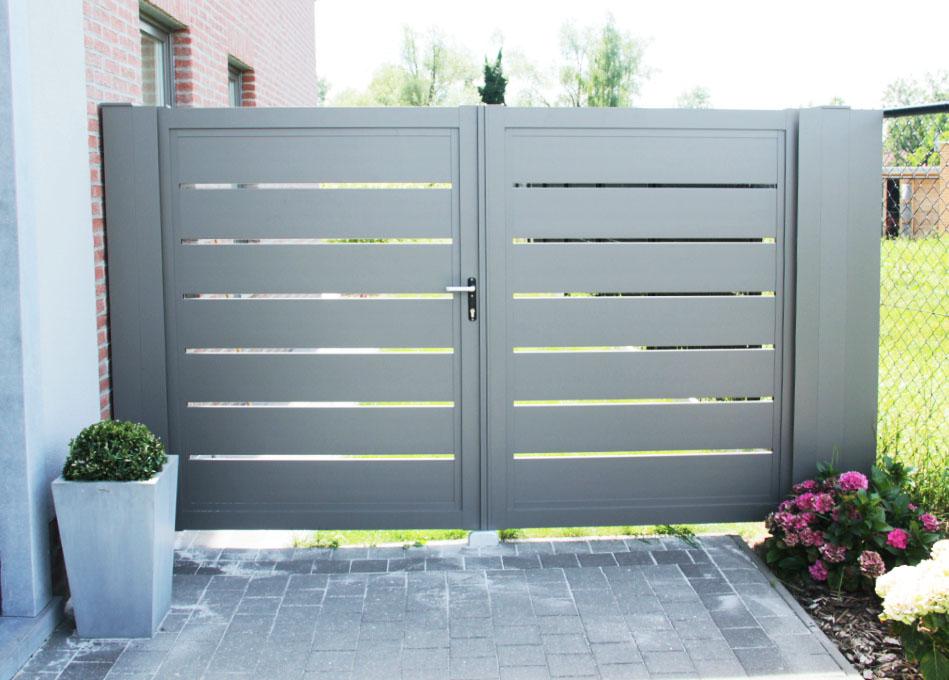 glenfiddichl - Aluminium poort